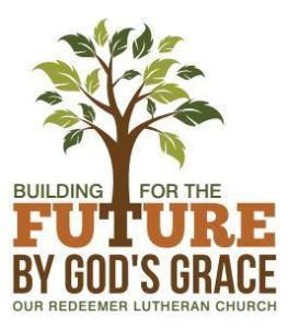 Building for the Future by God's Grace Logo